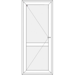 Okno 865x2095 mm