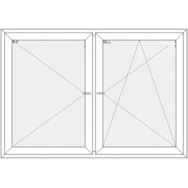 Okno 2065x1435 mm