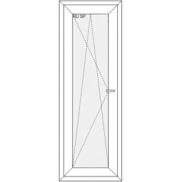 Okno 565x1635 mm